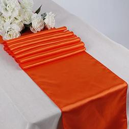 10 Satin 12 x 108 inch Table Runner Banquet Wedding Party &
