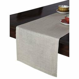 Solino Home 100% Pure Linen Table Runner – 14 x 48 Inch At