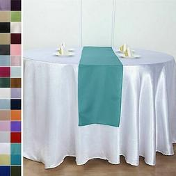 """12"""" x 108"""" Polyester Table Runner Wedding Party Dinner Table"""