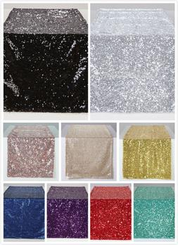 "12x60"" Sparkly Sequin Tablerunner Table Runner Birthday Wedd"