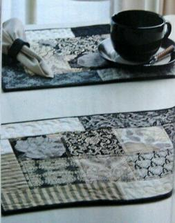 2 for 1: Quick Chic Table Runner/Placemat & Island Breeze Po