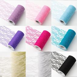 22M/Roll Lace Table Runner Wedding Party Festival Chair Sash