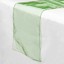 """Lanns Linens 5 Organza 14"""" x 108"""" Dining Room Table Runners"""