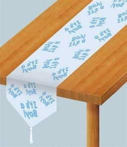 Beistle 54222 Printed it's a Boy Table Runner, 11-Inch by 6-