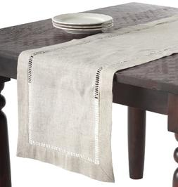 Saro LifeStyle 731.N1672B  Toscana Collection Linen Blend He