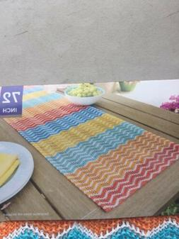 Better Homes & Gardens Indoor/Outdoor Table Runner Easy Clea
