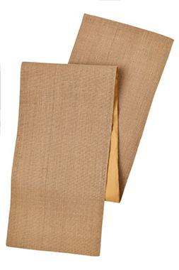 Cotton Craft - Solid Color Jute Table Runner 13x72 - Natural