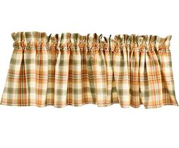 """Lemon Pepper Country Window Valance By Park Designs, 72"""" x 1"""