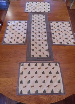 Northern Exposure Placemats&Table RunnerPark Designs S