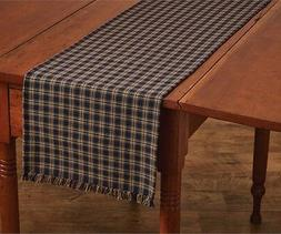 "Park Designs Sturbridge Table Runner, 13 by 36"", Navy"