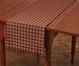 "Park Designs Sturbridge Table Runner, 13 x 36"", Wine"