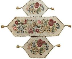 Tache Tapestry Country Rustic Vintage Morning Meadow Floral