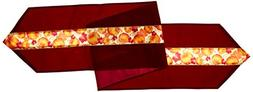 Autumn Leaves Fabric Table Runner 12in. X 6ft. Party Accesso