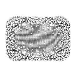 Heritage Lace Blossom 14-Inch by 20-Inch Placemat, Ecru, Set