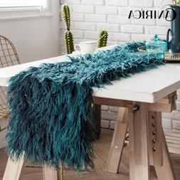 CANIRICA Blue <font><b>Runner</b></font> <font><b>Table</b><