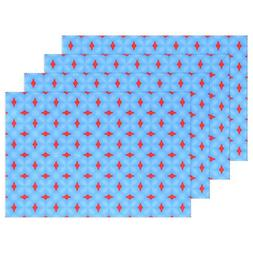 JTMOVING Blue Pattern Simple Pattern Texture Seamless Placem