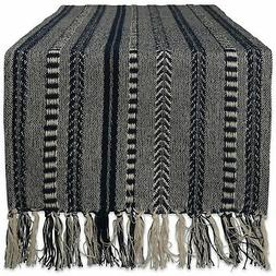 DII Braided Cotton Table Runner Perfect for Summer, Holiday