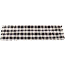Home Collections by Raghu 14x54 Buffalo Check Table Runner,