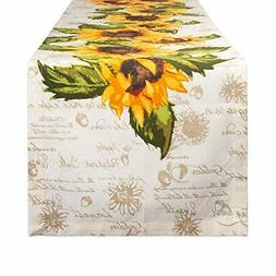 DII CAMZ11171 Cotton Table Runner for Dinner Parties, Spring