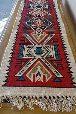Canvas Stencil Table Runner 684C-HIRUN Southwest Southwester