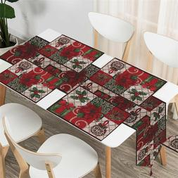 Christmas Gift Table Decoration Table Runner Tapestry Table