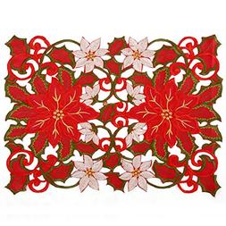 Christmas Holidays Placemat 12 × 18 Inch Set Of 6