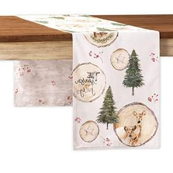 Maison d' Hermine Mountain Life 100% Cotton Table Runner - D