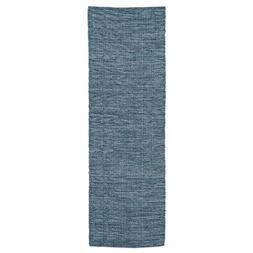 """Heritage Lace Classic Tweed 16"""" X 54"""" Blue Runner"""
