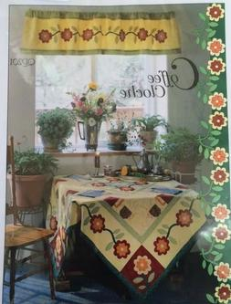 Coffee Cloche Quilt Table, Place Mats & Table Runner Pattern