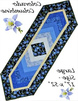 Pattern Colorado Columbine Table Runner Quilt KIT Moda Fabric