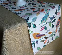 Colorful Vintage Table Runner Home Decor Linens Table Center