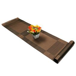 U'Artlines Compatible Placemats Table Runner, 1 Piece Crossw