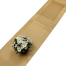 Compatible Placemats table runner,U'Artlines 1 Piece Gold Cr