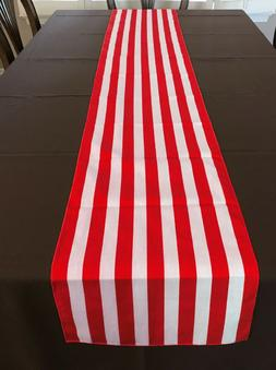 lovemyfabric Cotton 1 Inch Striped Print Table Runner For Pa