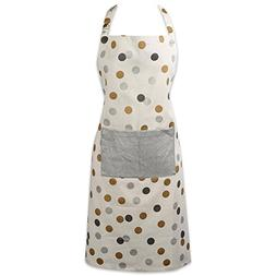 DII 100% Cotton Christmas Chef Apron Cooking,Baking-Metallic