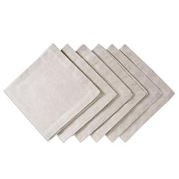 DII Chambray Pastel Basic Cloth Napkins for Everyday Place S