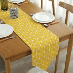 Table Runner Vintage Simple Style Tablecloth Dining Table Cl
