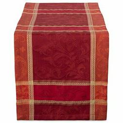 "DII 14x72"" Cotton Table Runner, Harvest Wheat - Perfect for"