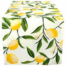 DII Cotton Table Runner for Dinner Parties Spring Wedding &