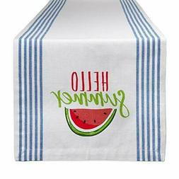 DII Cotton Table Runner for Dinner Parties, Weddings & Every