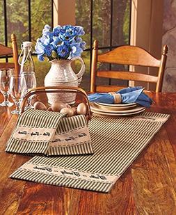 Country Kitchen Gathering Room Collection 4 Pieces Bundle RE