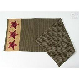 Country Star Southwestern Design Table Runner, 13x36 inches