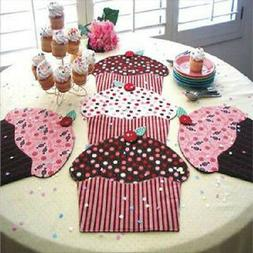CUPCAKE PARTY~Table Runner, Place Mats or Table Topper Patte