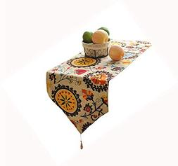HomeyHo Decorate Table Runner for Kitchen Table Dinning Tabl