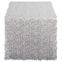 DII Decorative Metallic Sequin Table Runner for Wedding,  Ho