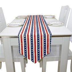 Naanle Double-Sided July 4th Independence Day American Flag