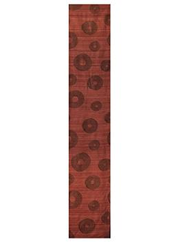 """Heritage Lace Downton Abbey Serenity Table Runner, Rust, 13"""""""