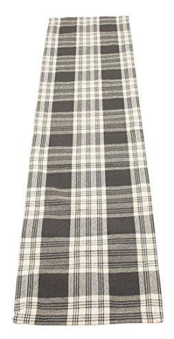 Dylan Slate Table Runner 13x54 inches Cotton