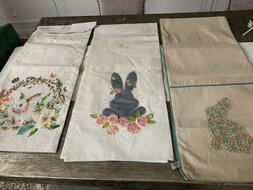 """Easter Bunny Table Runners Embroidered 15"""" x 72/16""""x 90"""" & P"""