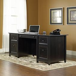 Executive Desk from Engineered Wood, Large Drawer and Shelf
